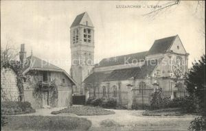 Luzarches Eglise Kirche Kat. Luzarches