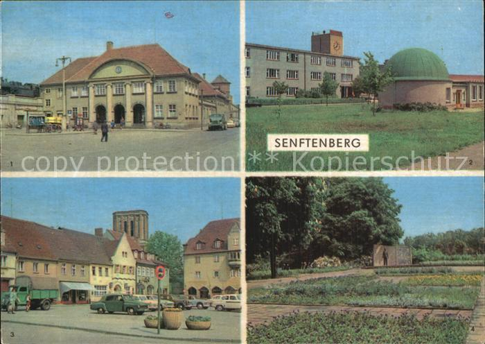 Senftenberg Niederlausitz Bahnhof Planetarium Platz der Freundschaft Ehrenmal Kat. Senftenberg