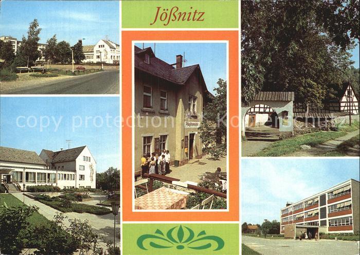 Joessnitz Erholungsheim Richard Mildenstrey Gaststaette Pfaffenmuehle Lochbauer  Kat. Plauen