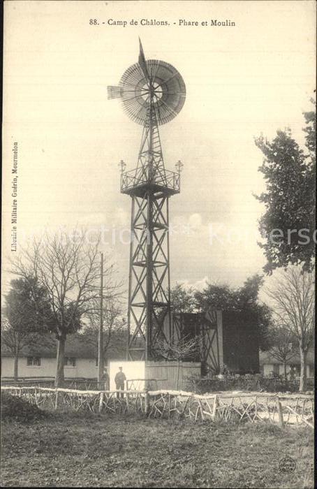 Camp de Chalons Phare et Moulin Kat. Mourmelon le Petit
