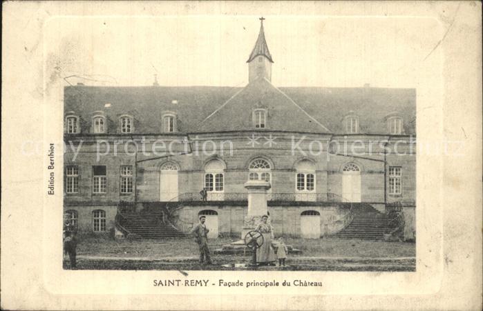 Saint Remy Haute Saone Facade principale du Chateau Schloss Kat. Saint Remy