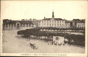 Commercy Meuse Place de l Hotel de Ville et Monument Kat. Commercy