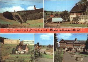 Oberwiesenthal Erzgebirge Sprungschanzen Hotel Bergfrieden Erholungsheim IG Wismut Kat. Oberwiesenthal