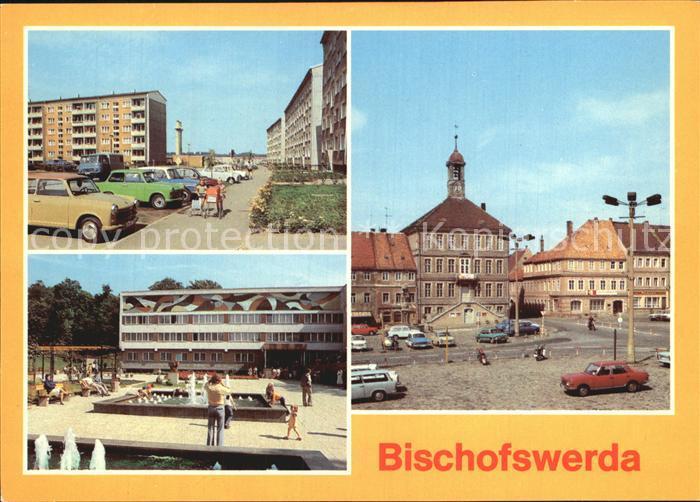 Bischofswerda Kulturhaus Bertolt Brecht Markt Kat. Bischofswerda