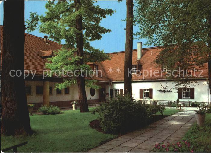 Moritzburg Sachsen Waldschaenke Historische Gaststaette mit Hotel ...