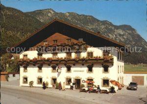 Kufstein Tirol Gasthof Huberwirt Niederbreitenbach Kat. Kufstein