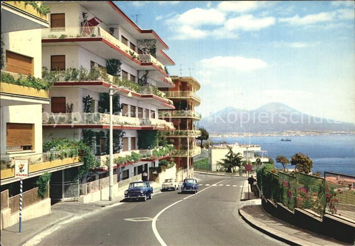 Napoli Neapel Vesuvio  Kat. Napoli