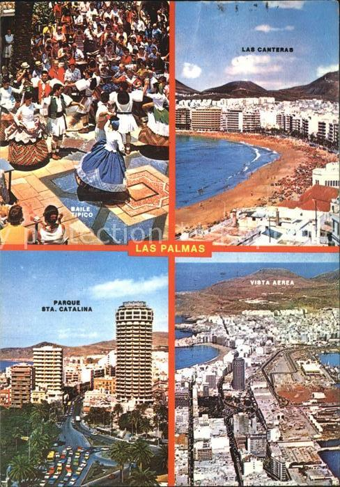 Las Palmas Gran Canaria Las Canteras Parque Sta. Catalina  Kat. Las Palmas Gran Canaria