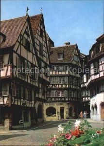 Colmar Haut Rhin Elsass Entree de la Rue des Marchands  Kat. Colmar