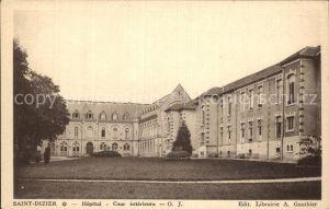 Saint Dizier Haute Marne Hopital Cour interieure Kat. Saint Dizier