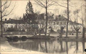 Saint Dizier Haute Marne Pont Jumeret Asile Departemental Kat. Saint Dizier