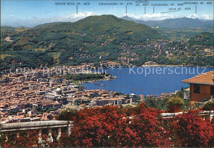 Como Lombardia Panorama Kat. Como