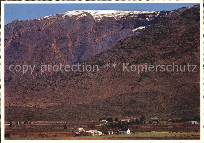 Cape Colony Hex River Valley Kat. Suedafrika