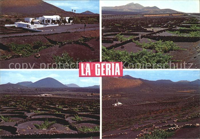 Lanzarote Kanarische Inseln La Geria Weinberge