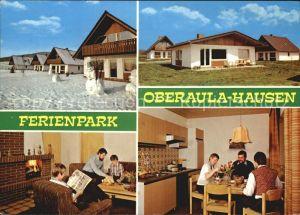 Oberaula Ferienpark Oberaula Hausen Kat. Oberaula