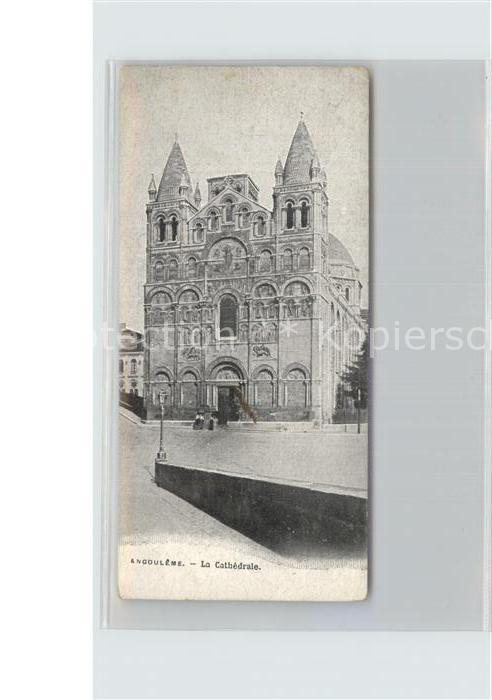 Angouleme La Cathedrale Kat. Angouleme
