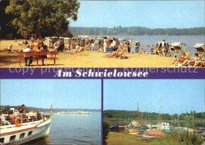 Ferch Am Schwielowsee Fahrgastschiffe Bootshafen Kat. Schwielowsee