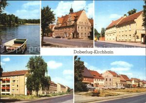 Doberlug Kirchhain Bad Erna Rathaus HOG Gruener Berg Bahnhofstr Hauptstr Kat. Doberlug Kirchhain