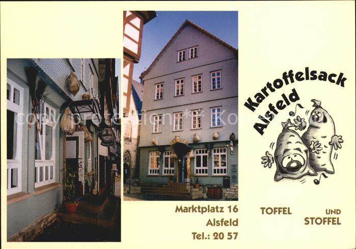 Alsfeld Kartoffelsack Alsfeld Marktplatz Kat. Alsfeld