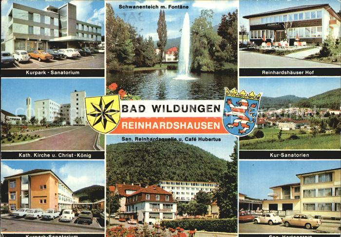 Ak Ansichtskarte Reinhardshausen Wandelhalle