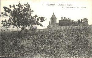 Villerest Eglise Saint Sulpice Kat. Villerest