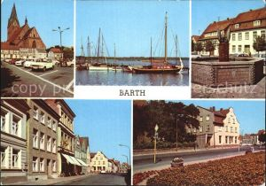 Barth Mole Brunnen am Markt Kat. Barth