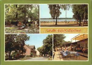 Kallinchen Minigolf Strandbad Eisdiele Olivia Kat. Zossen