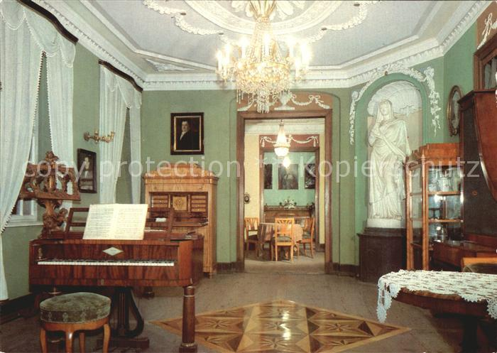 Plauen Vogtland Vogtlandmuseum Wohnraeume Biedermeierzeit Kat. Plauen
