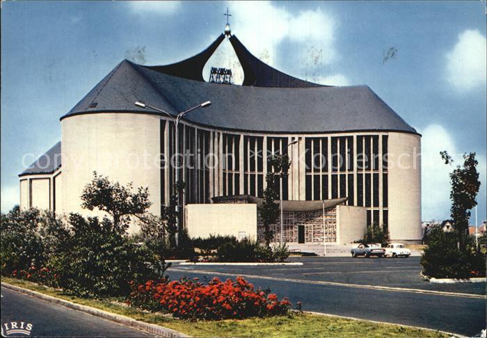 Koksijde Coxyde Eglise Notre Dame des Dunes Kat.