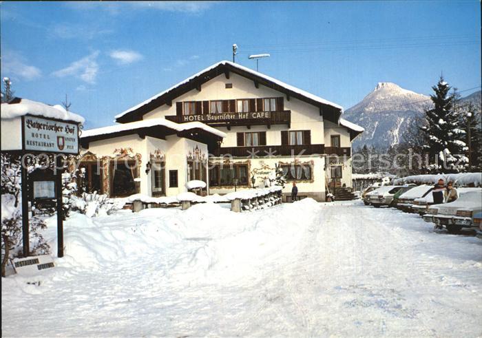 Oberaudorf Hotel Restaurant Cafe Bayerischer Hof Kat. Oberaudorf