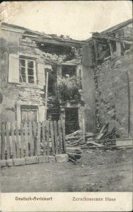 Avricourt Sarrebourg Deutsch-Avricourt Zerschossenes Haus x / Avricourt /Arrond. de Sarrebourg