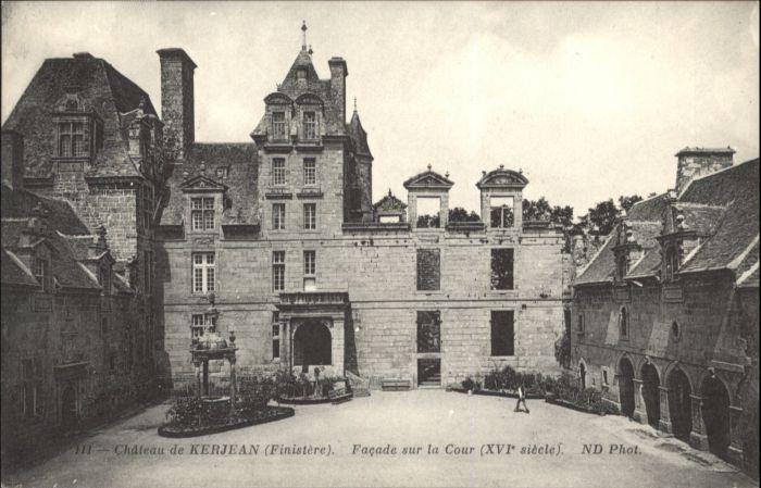 Saint-Vougay Chateau de Kerjean  * / Saint-Vougay /Arrond. de Morlaix