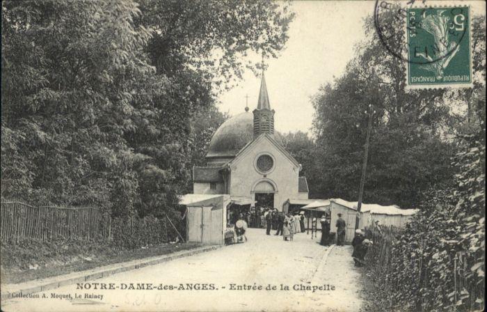 Clichy-sous-Bois Notre-Dame-des-Anges Entree Chapelle x / Clichy-sous-Bois /Arrond. du Raincy