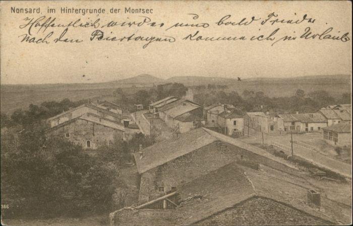 Nonsard-Lamarche Nonsard Montsec x / Nonsard-Lamarche /Arrond. de Commercy