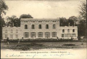 Evry Essonne Petit-Bourg Chateau de Beauvoir / Evry /Arrond. d Evry