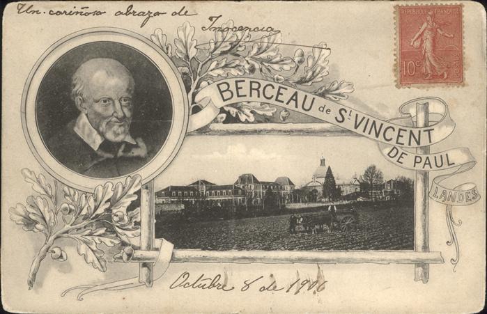 Saint-Vincent-de-Paul Landes Eglise Saint-Vincent-de-Paul du Berceau / Saint-Vincent-de-Paul /Arrond. de Dax