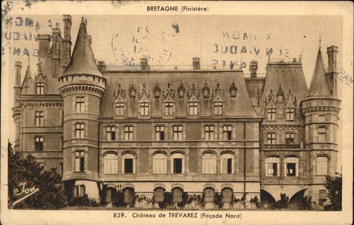 Saint-Goazec Chateau de Trevarez / Saint-Goazec /Arrond. de Chateaulin