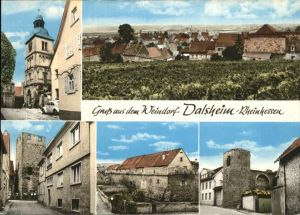Dalsheim Ortsansichten / Floersheim-Dalsheim /Alzey-Worms LKR