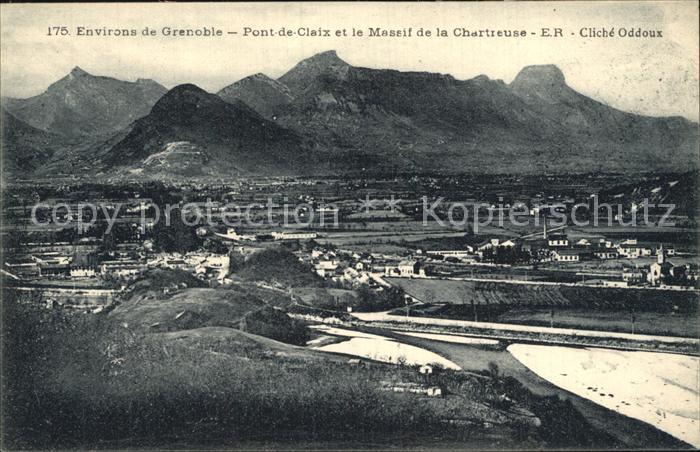 Pont de Claix Le et le Massif de la Chartreuse Kat. Le Pont de Claix