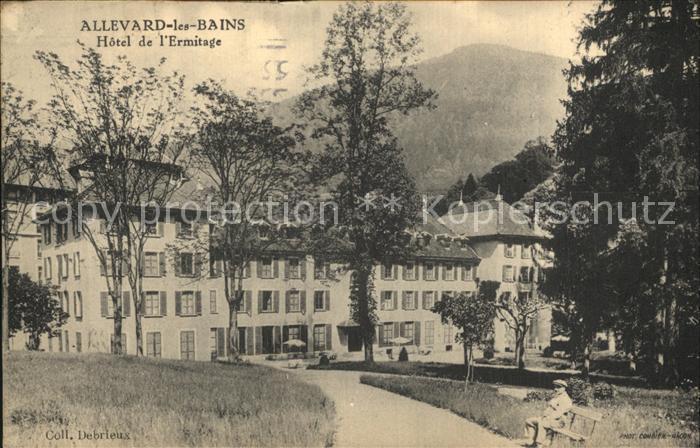 Allevard les Bains Isere Hotel de l Ermitage Kat. Allevard