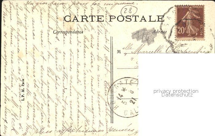 Anet Chateau La Vasque et la Chapelle Kat. Anet 1