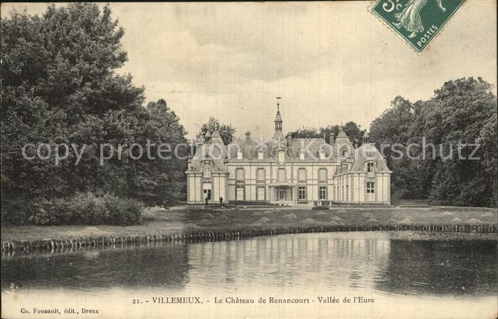 Villemeux sur Eure Chateau de Renancourt Vallee de l Eure Kat. Villemeux sur Eure