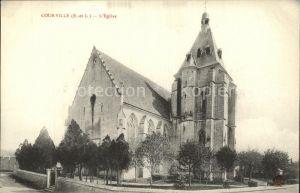 Courville sur Eure Eglise Kirche Kat. Courville sur Eure