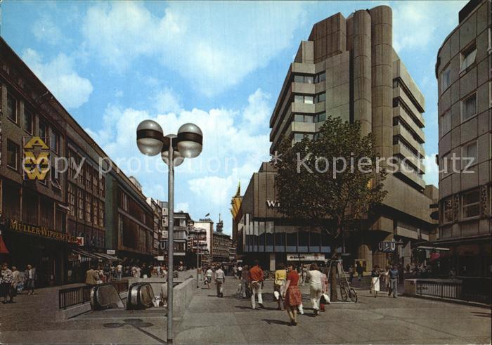 Hannover Karmarschstrasse und Kroepcke Center Kat. Hannover