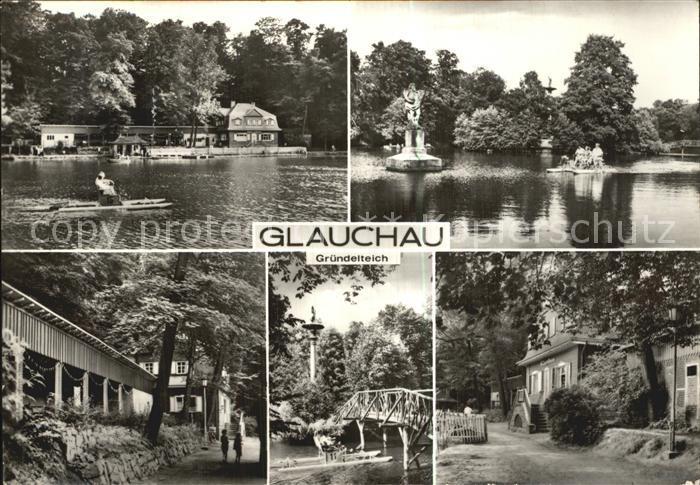 Glauchau Gruendelteich  Kat. Glauchau