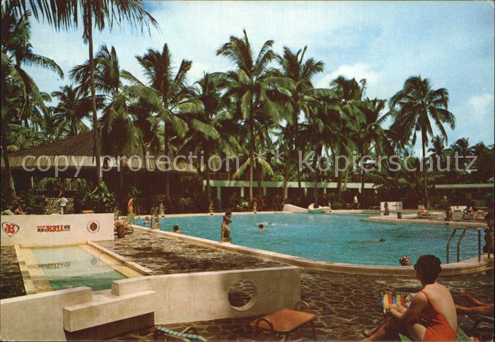 Bali Indonesien Bali Beach Hotel Pool Kat. Bali