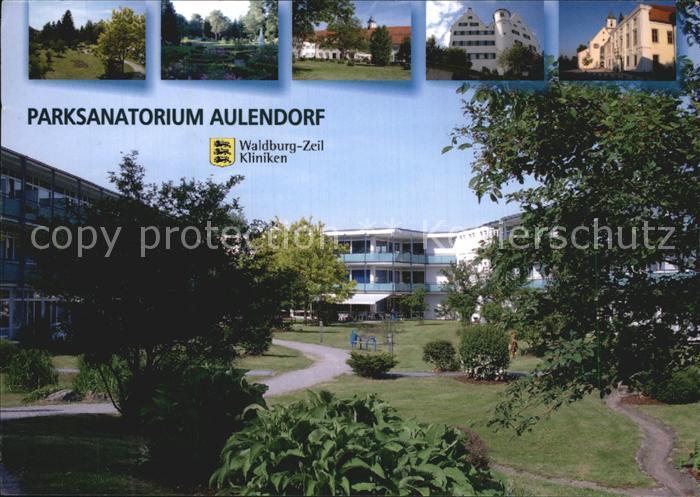 Aulendorf Parksanatorium  Kat. Aulendorf
