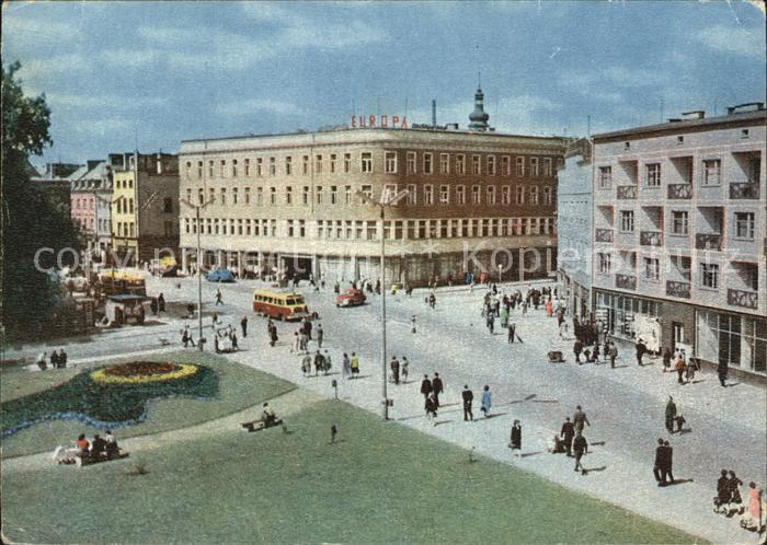 Opole Oberschlesien Stadtzentrum Kat. Oppeln Oberschlesien