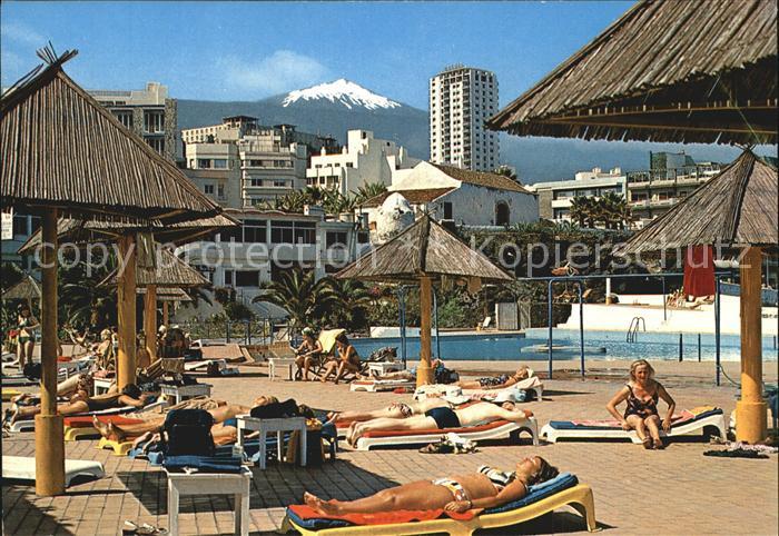 Puerto de la Cruz El Teide Santelmo Pool Kat. Puerto de la Cruz Tenerife
