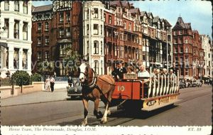 Douglas Isle of Man Horse Tram Promenade Kat. Douglas